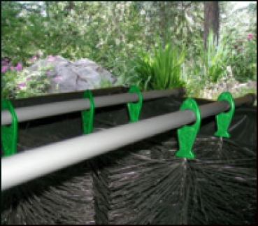 20 x Filterbürsten 50 cm Ø 150mm SCHWARZ Gartenteich  Filterbürste Teichfilter