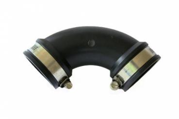 Flexibler Bogen 90° 63 mm Koi Teich Filter Fitting PVC Winkel Koi Teich Bau
